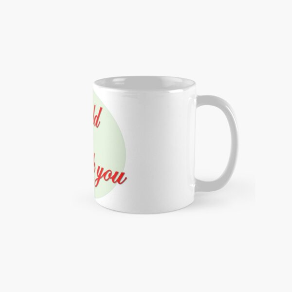 Sold  Thank you in red font  Classic Mug