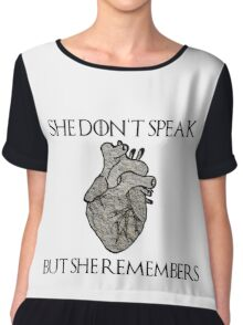 Lady Stoneheart, Game of Thrones Chiffon Top