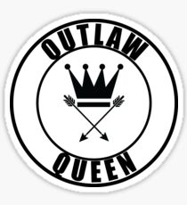 Once Upon a Time - Outlaw Queen Sticker