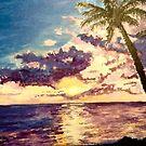 Tropical Sunset by Jennifer Ingram