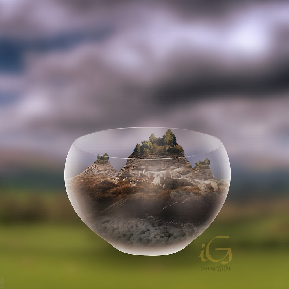 Mountain in a Glass by thebigG2005