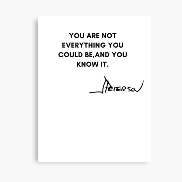 Jordan Peterson Quotes Canvas Print