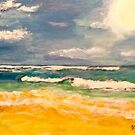 Beach  Therapy by Jennifer Ingram