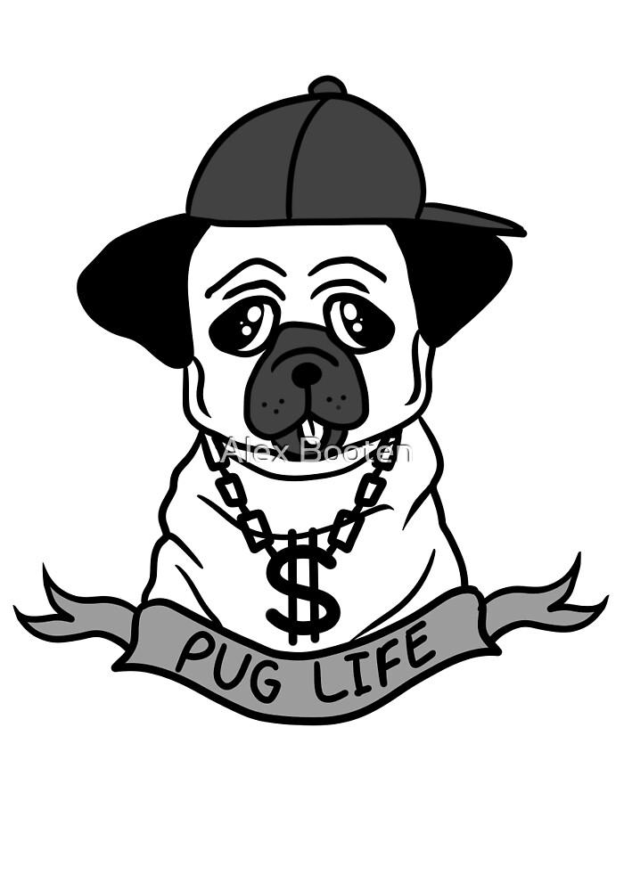 PUG LIFE by Alexandra Booten