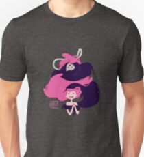 Marceline and Princess Bubblegum Hug Unisex T-Shirt