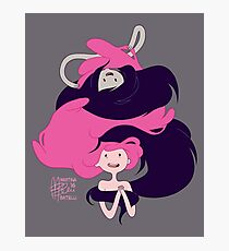 Marceline and Princess Bubblegum Hug Photographic Print