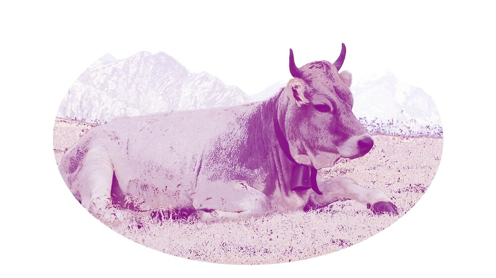 purple cow by NellyD