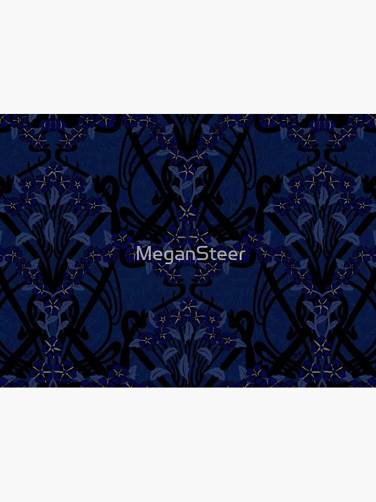 Art Nouveau Shadow Garland by MeganSteer