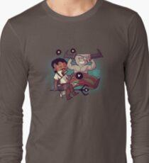 Adoribull - Chibi Stars Long Sleeve T-Shirt