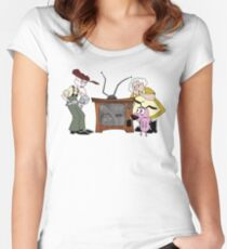 Beware The Invaders! Women's Fitted Scoop T-Shirt
