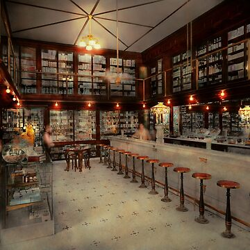 Pharmacy - Bertrams ghosts 1909 by mikesavad