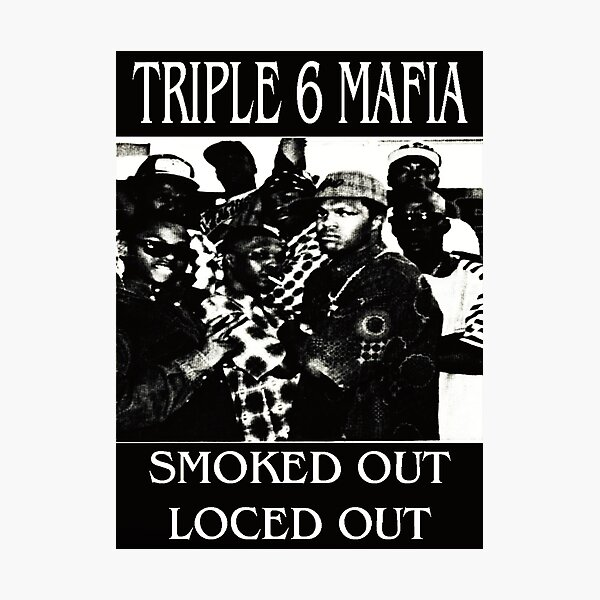 Three six mafia  Photographic Print