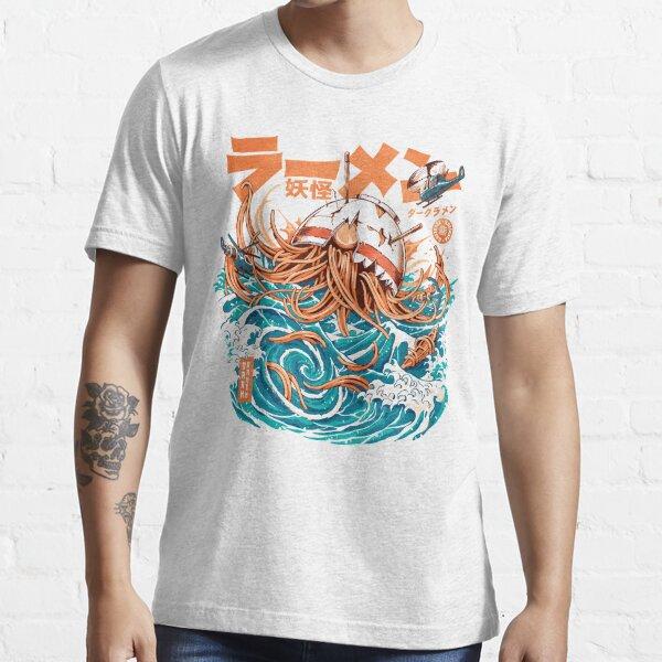 Dark Great Ramen off Kanagawa Essential T-Shirt