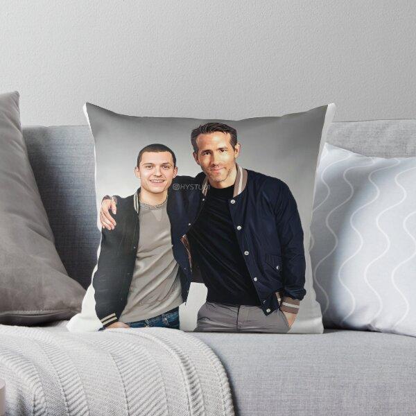 Tom and Ryan Throw Pillow