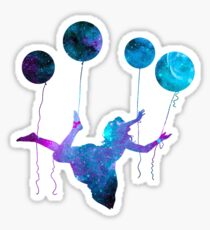 Universe Woman Sticker