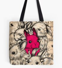 BUNNIES GALORE! Tote Bag