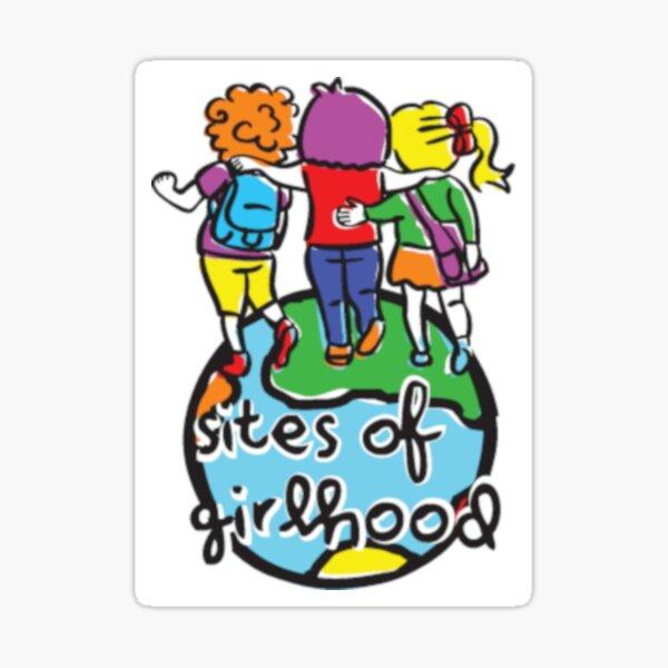 Sites of Girlhood Sticker