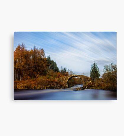 Roman Bridge Over The River Minnoch Canvas Print