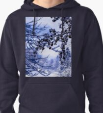 ABSTRACT LIMBS AND SNOW Pullover Hoodie