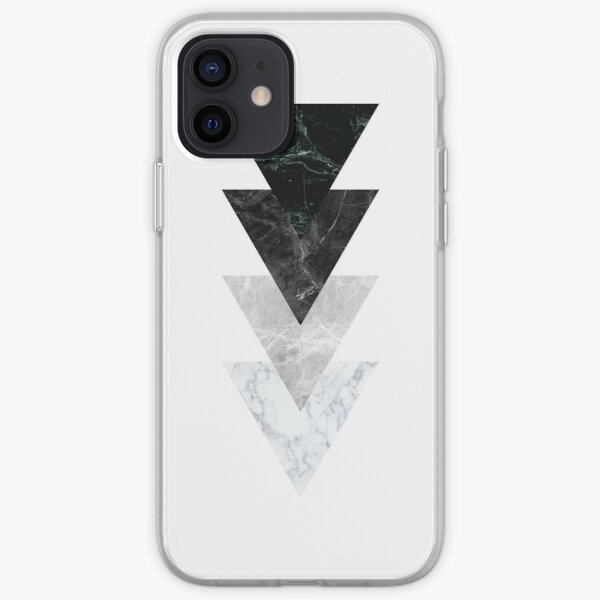Marble Triangles iPhone Soft Case