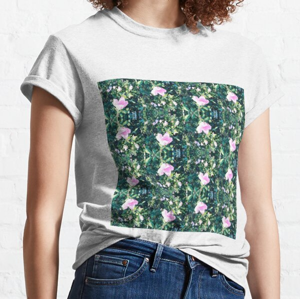 Roses in a Row Classic T-Shirt