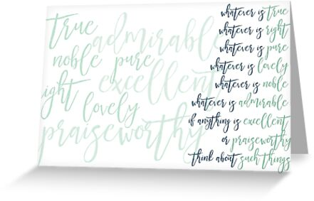 Whatever is True Mugs and Notebook Journals by PraiseQuotes