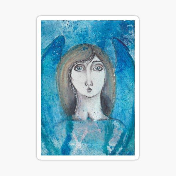 Angel Blue Sticker