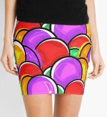 Colorful Easter Eggs Mini Skirt