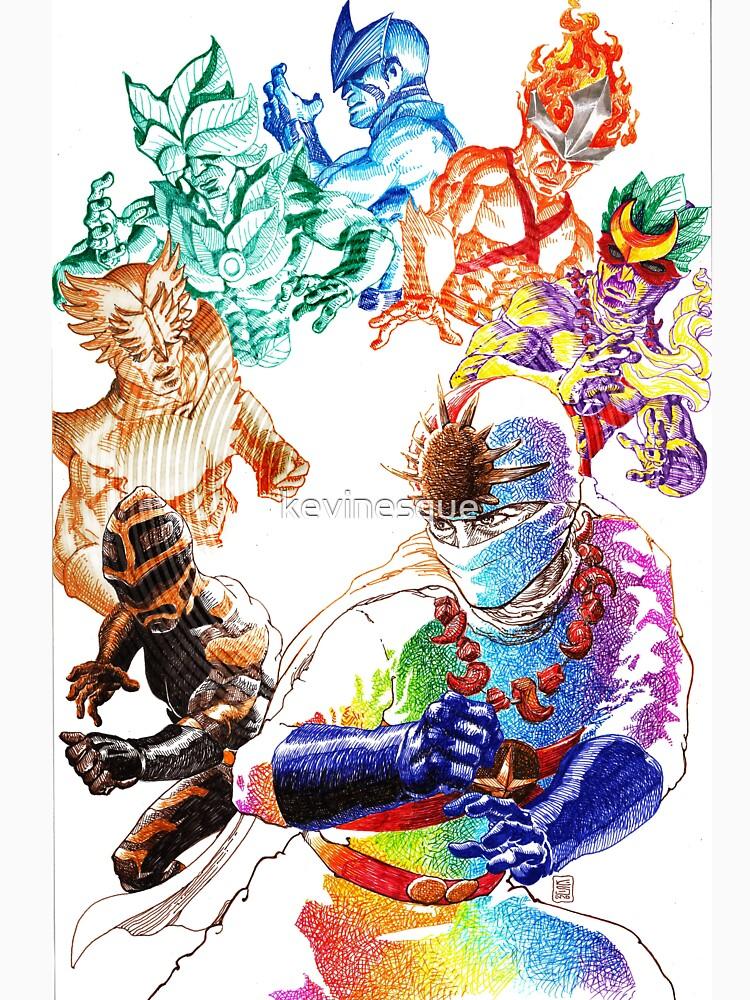 RainbowmanShirt by kevinesque