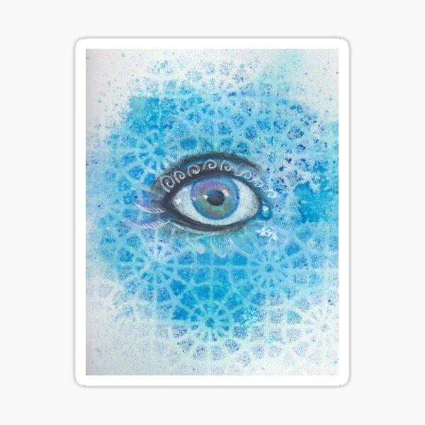Eye Window Sticker