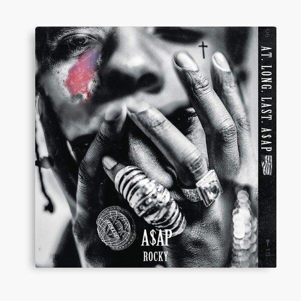 AT.LONG.LAST.A$AP - A$AP Rocky Canvas Print