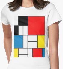 Mondrian Women's Fitted T-Shirt