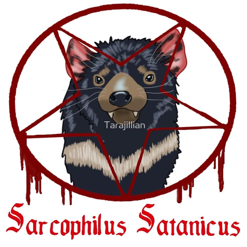 Tasmanian Devil Worshipper by Tarajillian