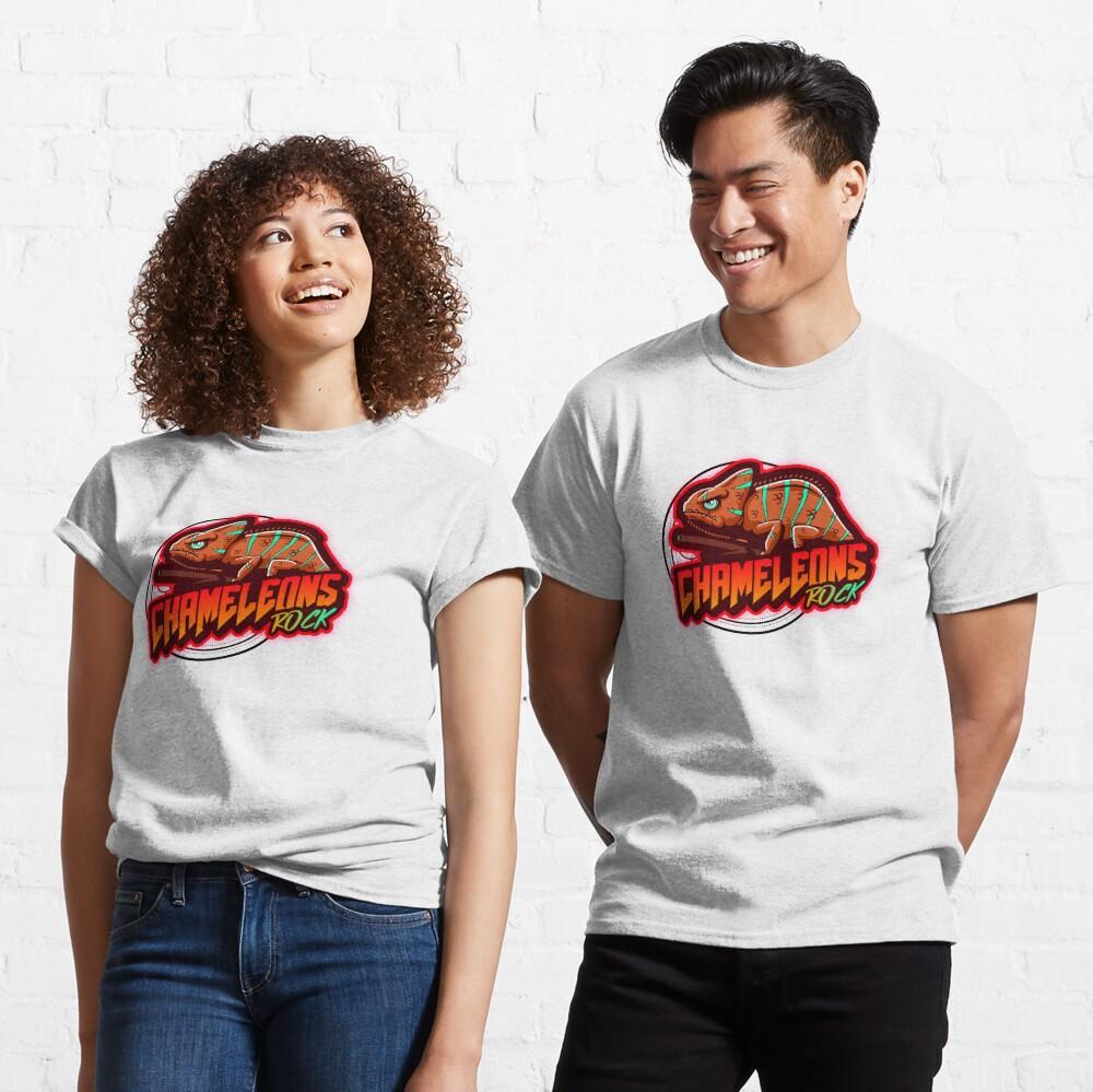 Chameleons Rock Colourful Bright Classic T-Shirt
