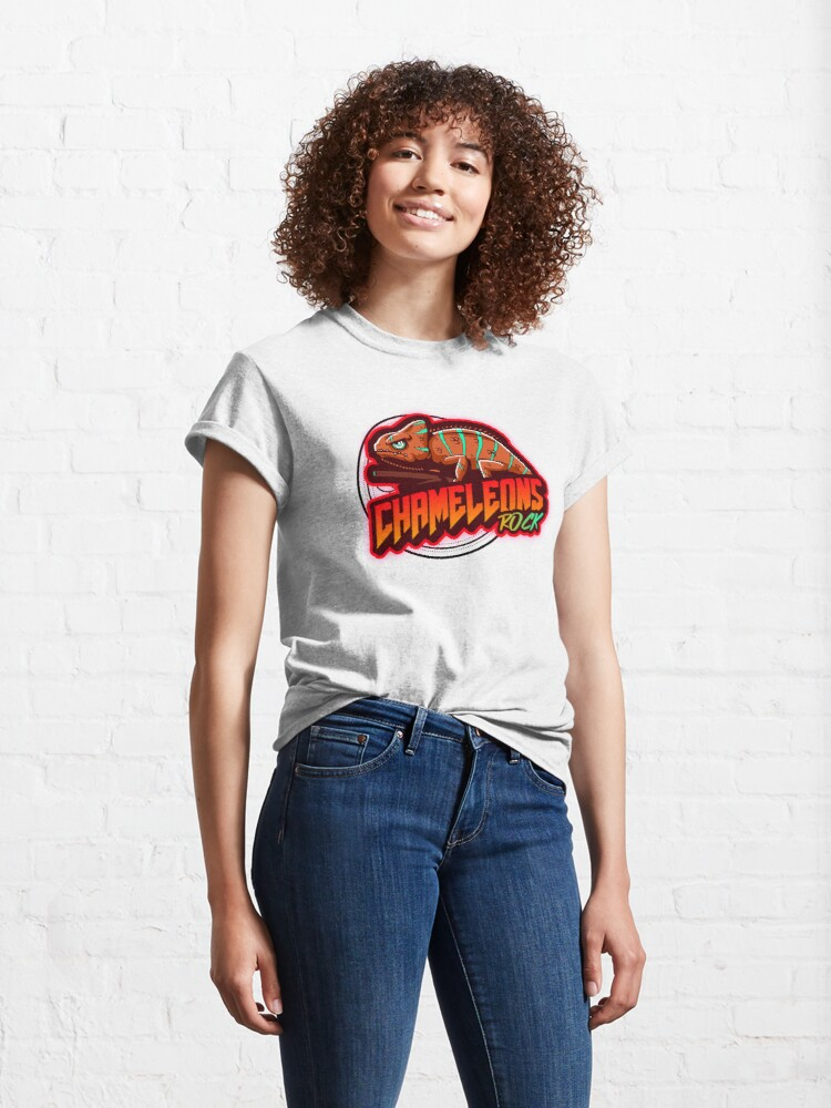 Alternate view of Chameleons Rock Colourful Bright Classic T-Shirt