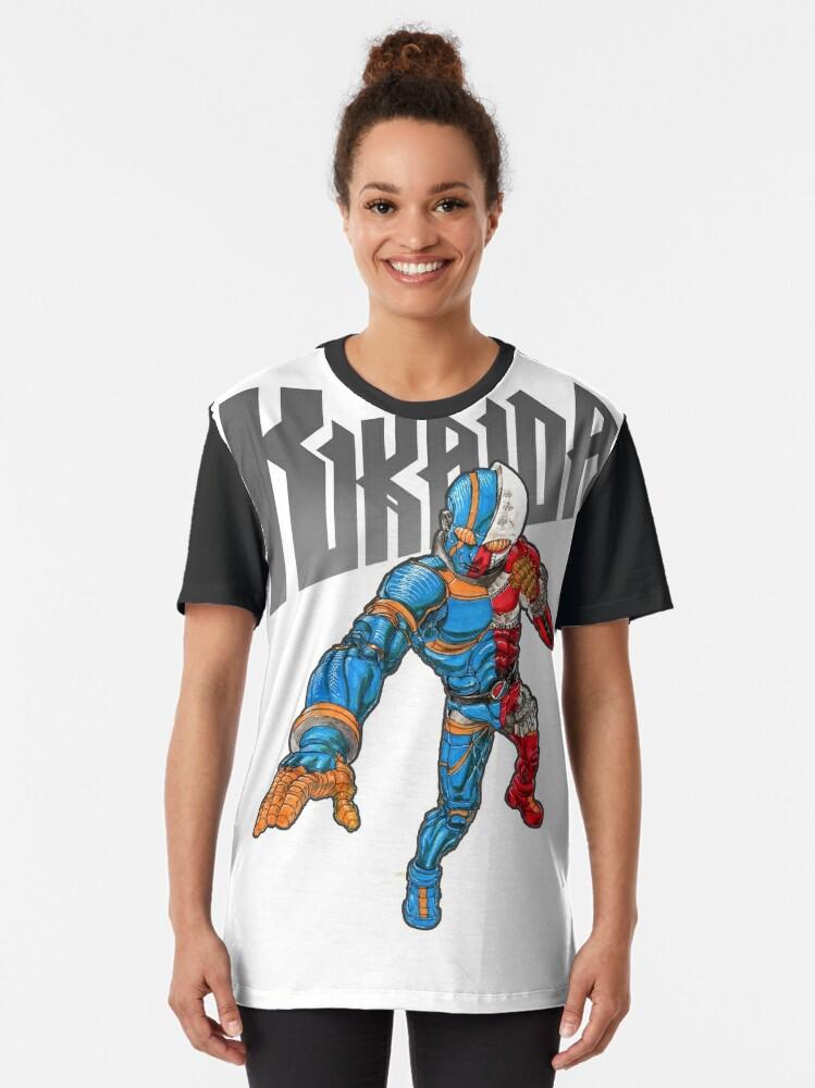 Alternate view of Kikaida Graphic T-Shirt