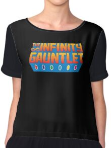 Infinity Gauntlet - Classic Title - Clean Chiffon Top