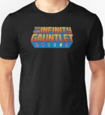 Infinity Gauntlet - Classic Title - Clean T-Shirt