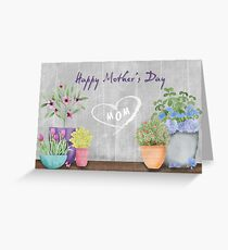 Garden for Mom Greeting Card