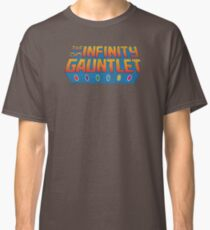 Infinity Gauntlet - Classic Title - Dirty Classic T-Shirt