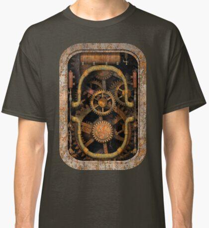Infernal Steampunk Vintage Machine #1 Classic T-Shirt