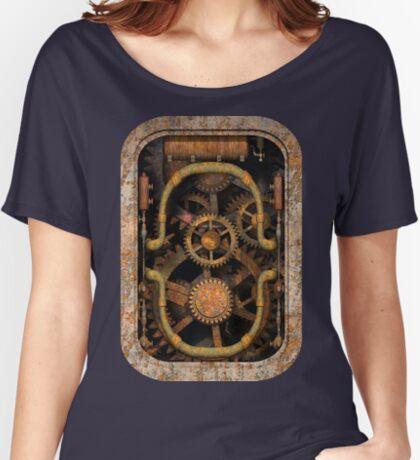 Infernal Steampunk Vintage Machine #1 Women's Relaxed Fit T-Shirt