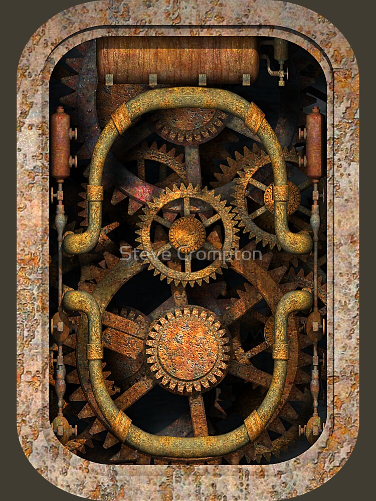 Infernal Steampunk Vintage Machine #1 by SC001
