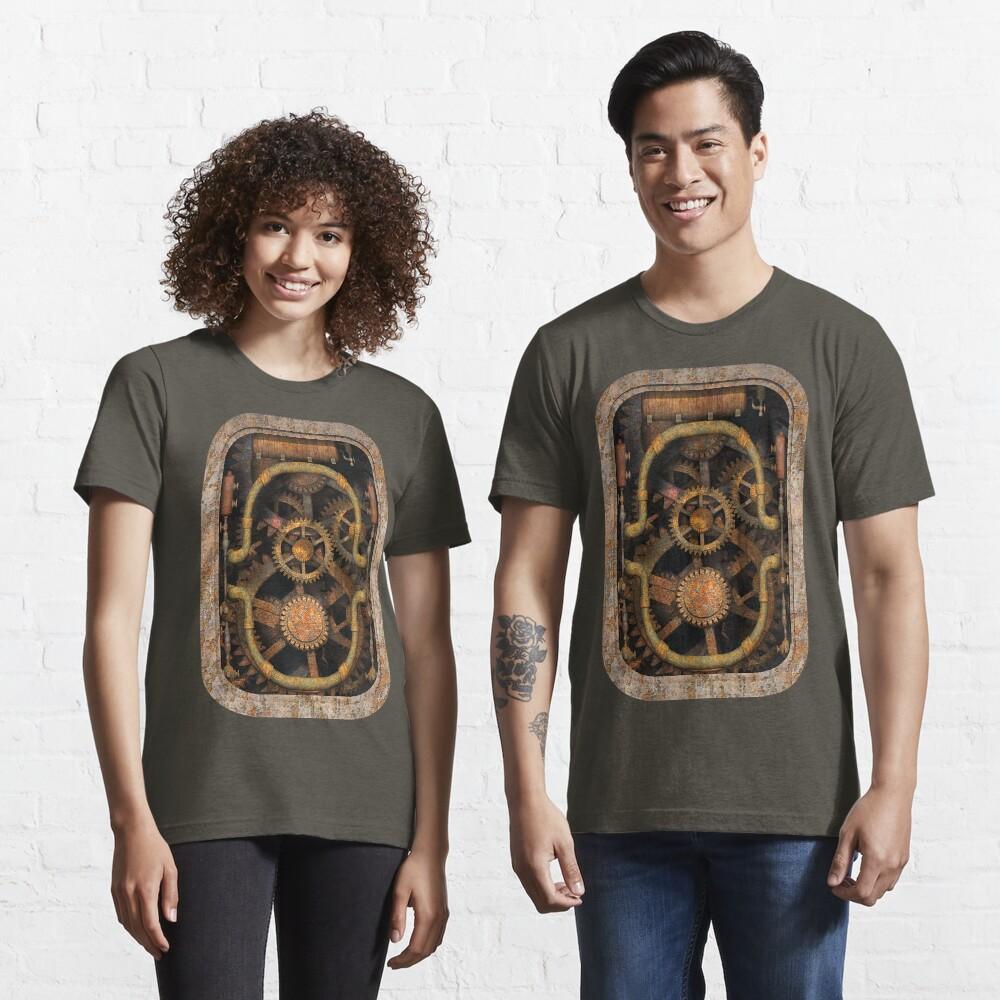 Infernal Steampunk Vintage Machine #1 Essential T-Shirt