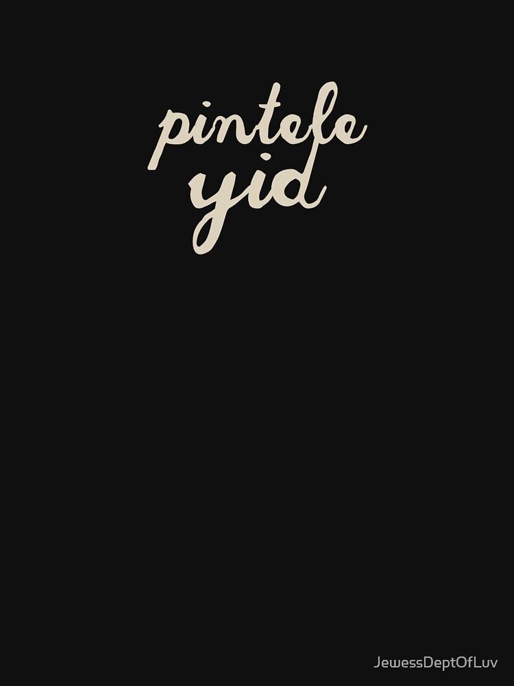 Pintele Yid [cream] by JewessDeptOfLuv