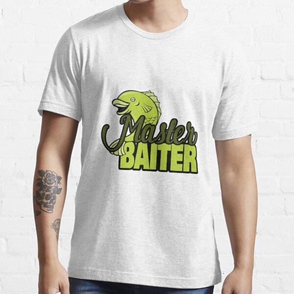 Funny Fishing Master Baiter Word Play Pun Essential T-Shirt