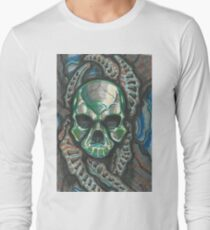 Bio-skull Long Sleeve T-Shirt