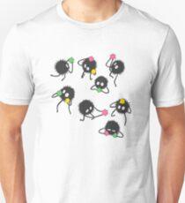 Soot sprites from Spirited away Unisex T-Shirt