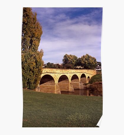 Autumn—Richmond Bridge Poster