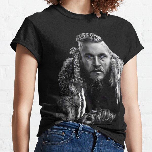 Wikinger König Ragnar Lothbrok Design Classic T-Shirt
